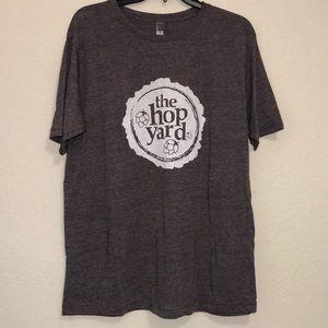 🍺 Next Level Apparel Brown Hop Yard T Shirt